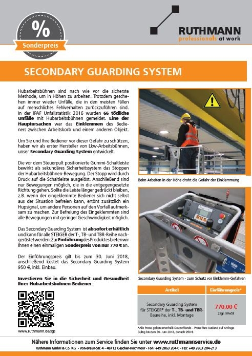 Flyer Secondary Guarding System