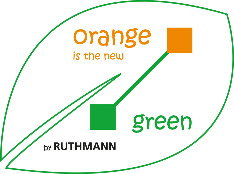 orange is the new green by RUTHMANN