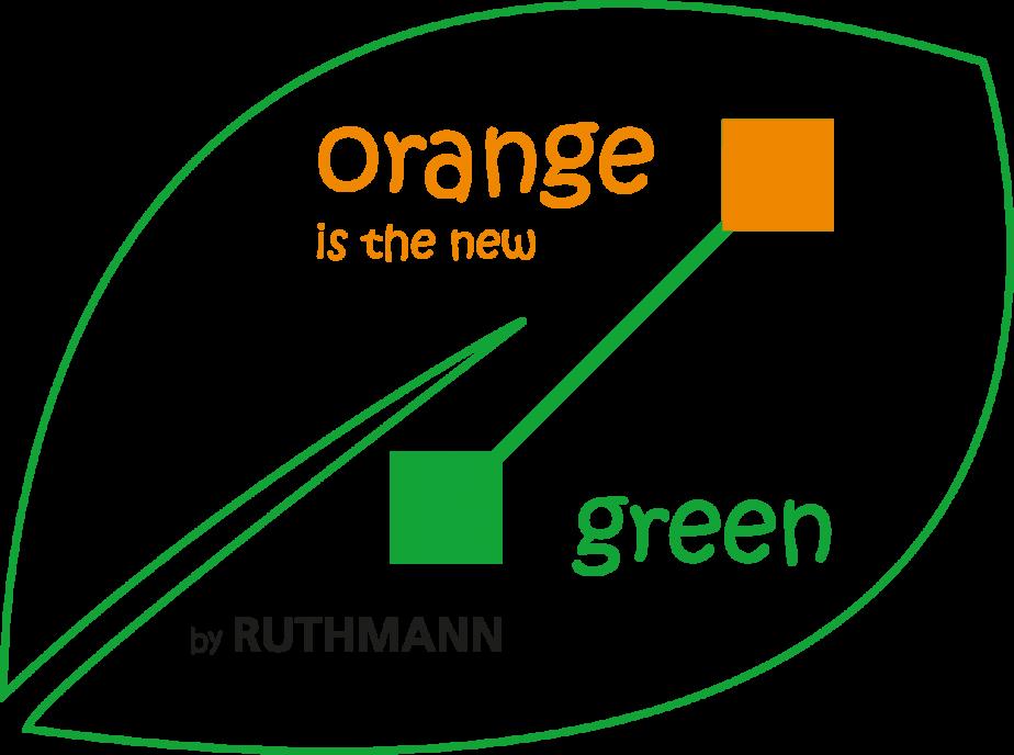 Orange is the new green - Logo